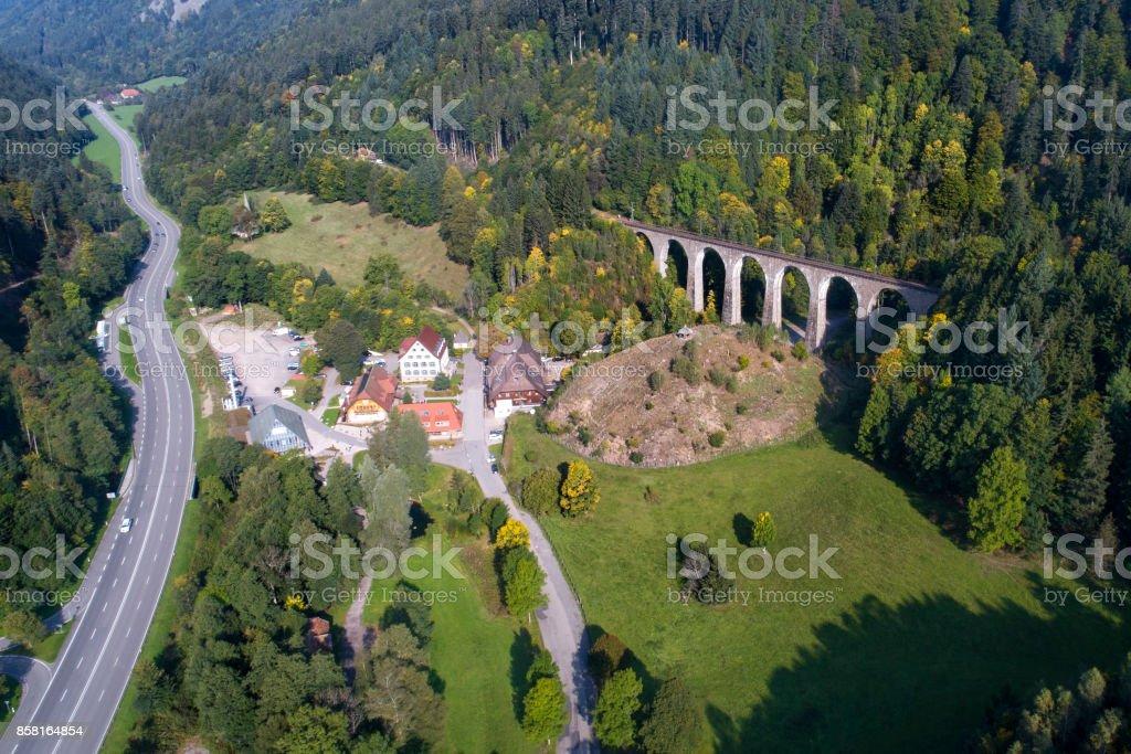 Hoellental, Ravennaschlucht - Schwarzwald, Germany stock photo