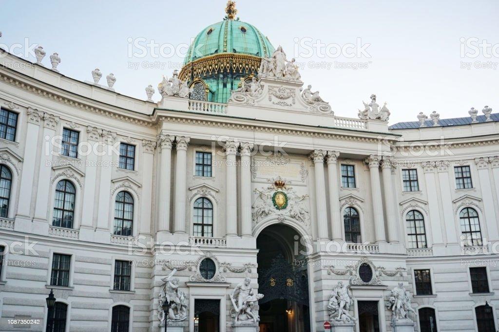 Hofburg Complex Vienna stock photo
