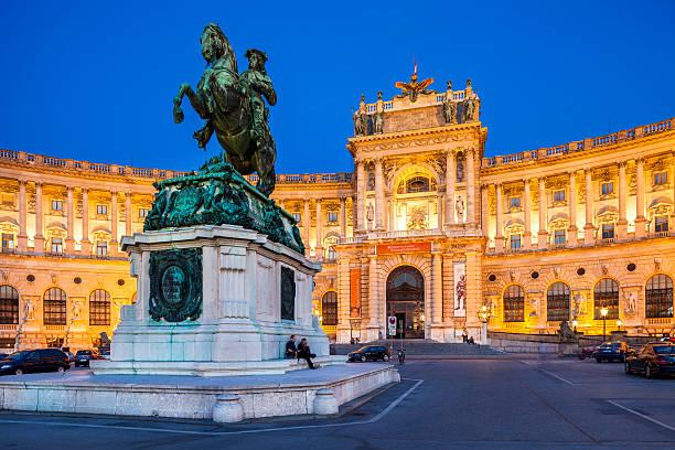 Hofburg in Wien, Österreich. – Foto