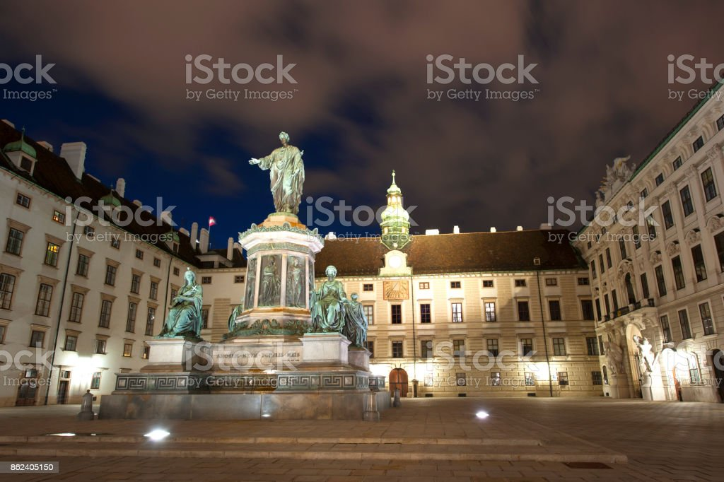 Hofburg stock photo