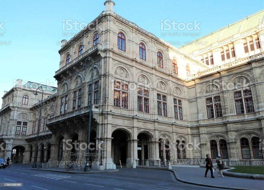 Congresso e Centro eventi di Hofburg Vienna e Organizzazione OSCE per la sicurezza e la cooperazione in Europa. Vienna, Austria nel 11/07/2020. - Foto stock royalty-free di Affari internazionali