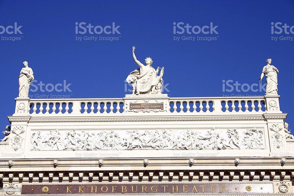 Hofburgtheater royalty-free stock photo