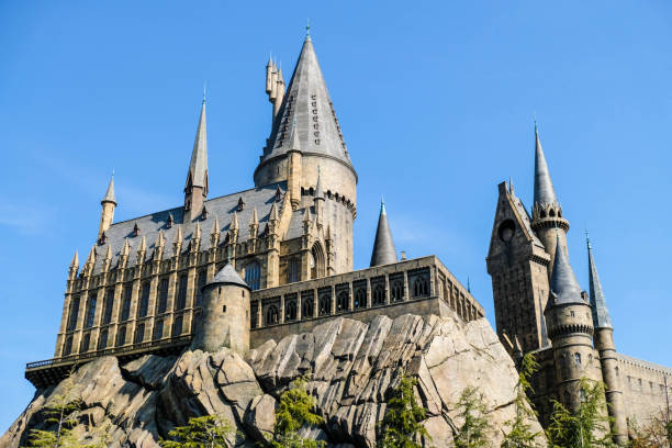 Hogwarts School of Witchcraft and Wizardry in Universal Studio Japan (USJ) stock photo