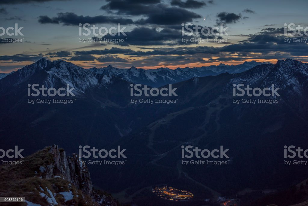 Hohe Tauern, Kalser Tal, Granatspitzgruppe stock photo