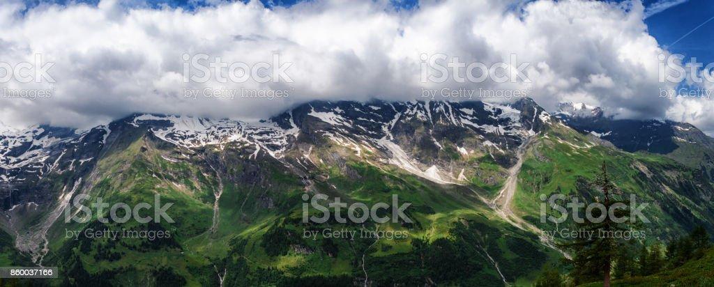 Hohe Tauern Mountain Range stock photo