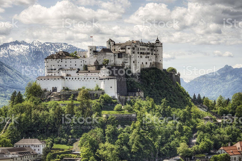 Festung Hohensalzburg in Österreich – Foto