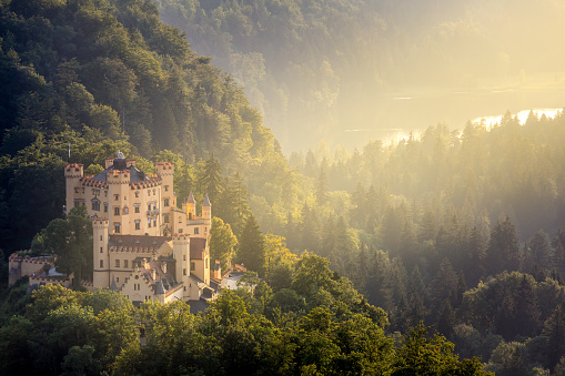 Hohenschwangau castle at Fussen Bavaria, Germany