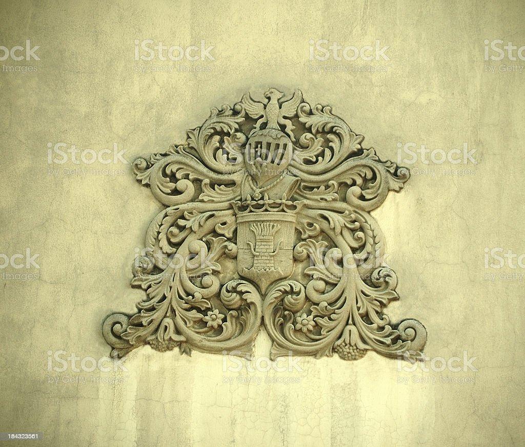Hohenzolern Royal Family Coat of Arms royalty-free stock photo