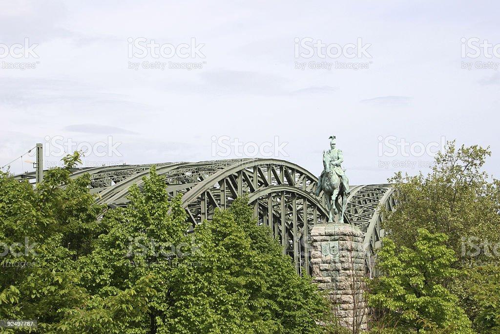 Hohenzollernbrücke Lizenzfreies stock-foto