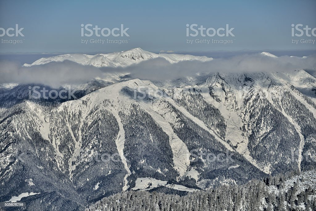 'Hoher Nock' Upper Austria stock photo