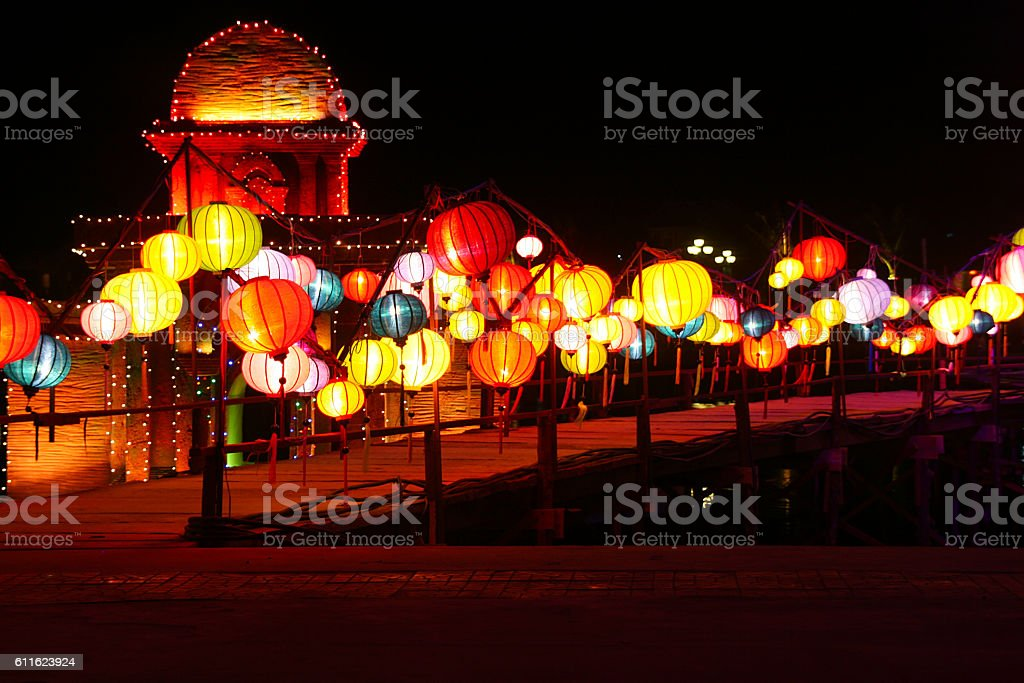 Hoi An Festival, Vietnam stock photo