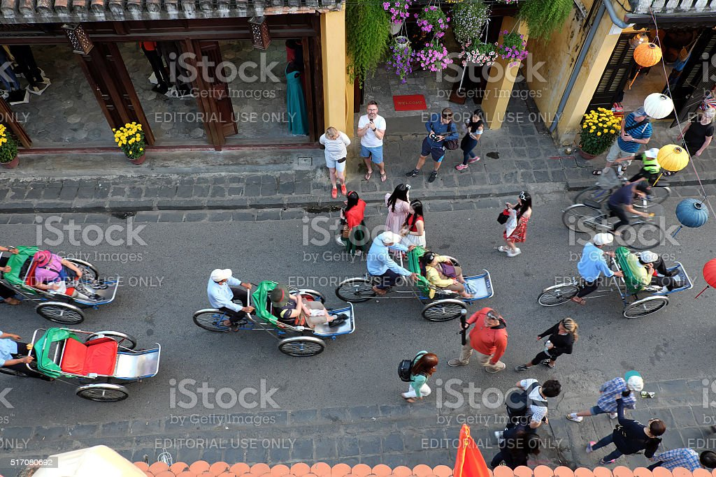 Hoian old town, Hoi An, Vietnam, travel, Viet Nam stock photo