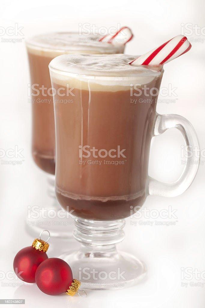 Hoiday hot cocoa royalty-free stock photo