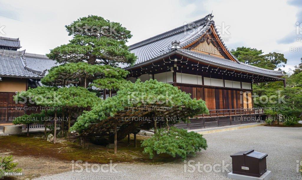 Hojo House liegt wenige Schritte entfernt von den Goldenen Pavillon Kyoto, Japan – Foto