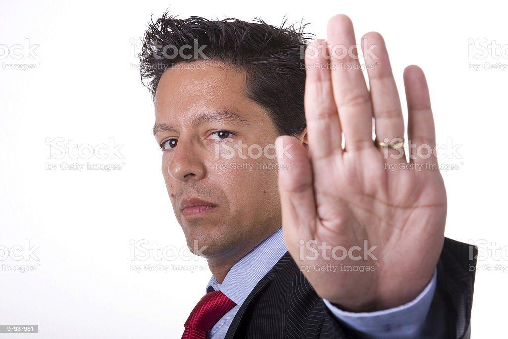 Hold hand royalty-free stock photo