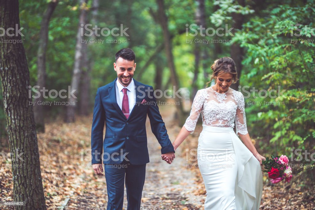 Hold my hand forever stock photo
