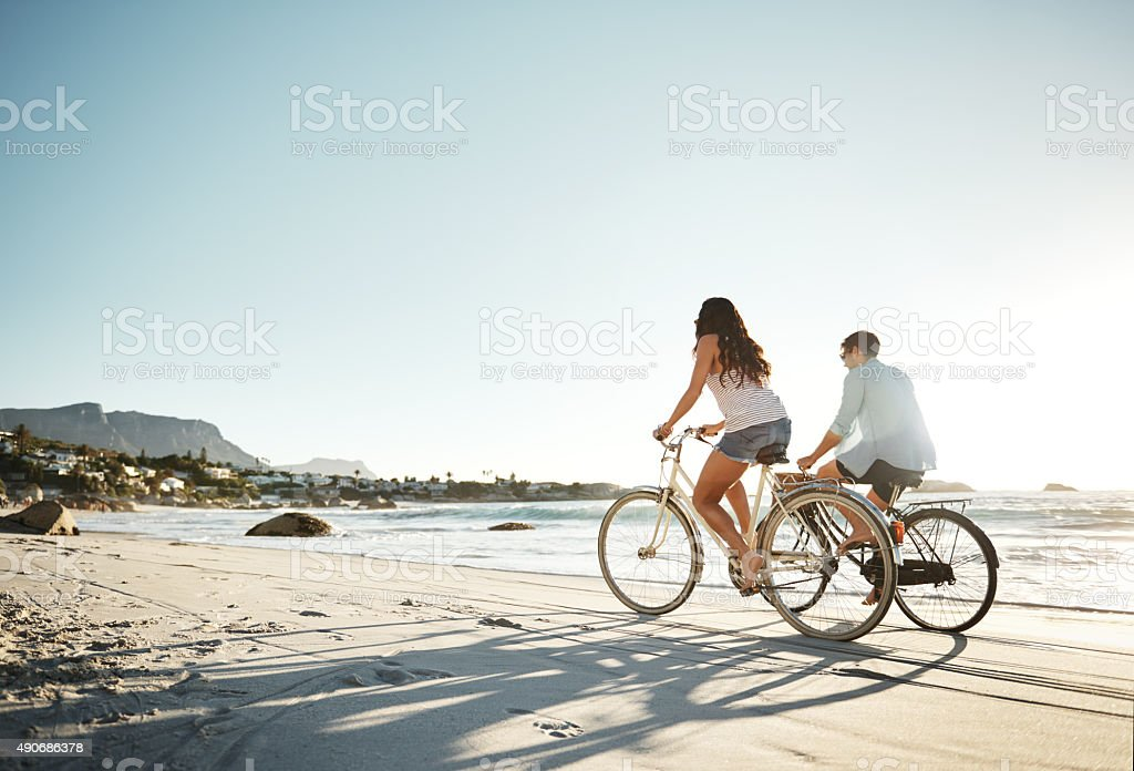 Hold on as tight as you can... stock photo