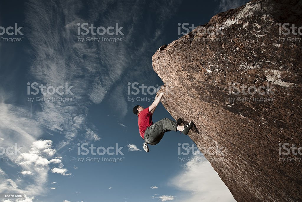 Hold on royalty-free stock photo