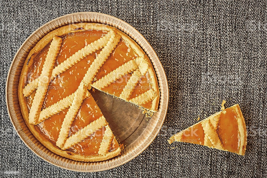Crostata stock photo