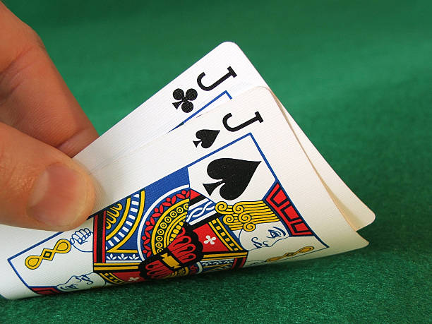 hold'em- hooks - pair stock photos and pictures