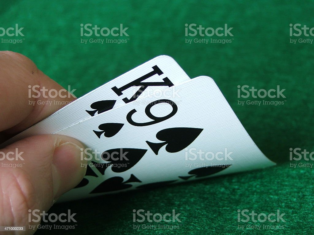 Hold'em: K9 royalty-free stock photo