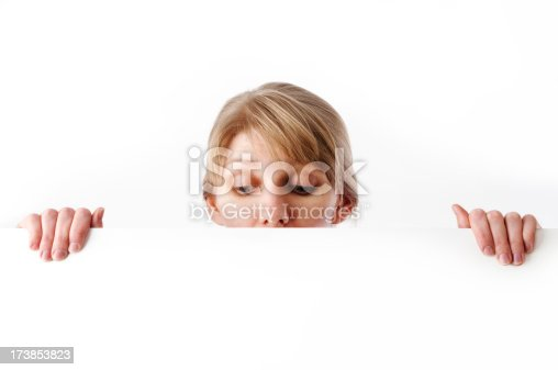 istock Holding a billboard 173853823