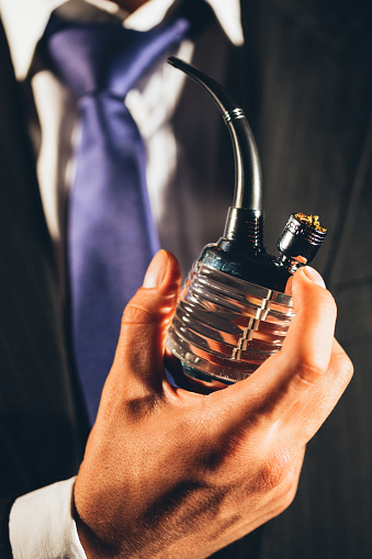 Holding A Bong Stock Photo - Download Image Now - iStock