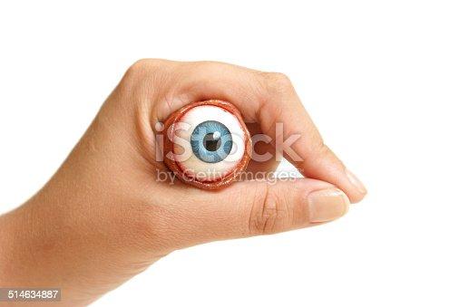 istock Holding an Eyeball 514634887