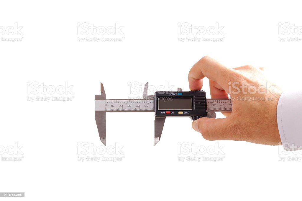 Holding caliper stock photo