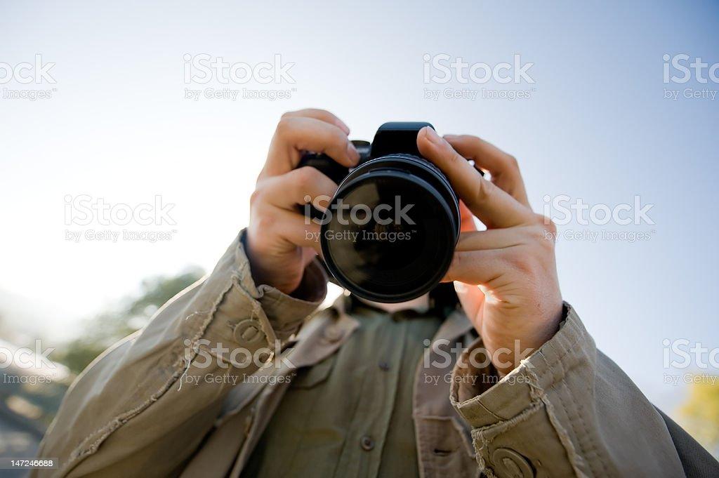Halte die Kamera – Foto