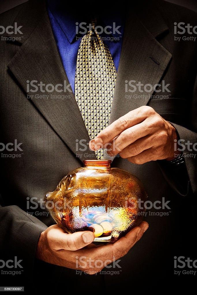 Retención de efectivo foto de stock libre de derechos