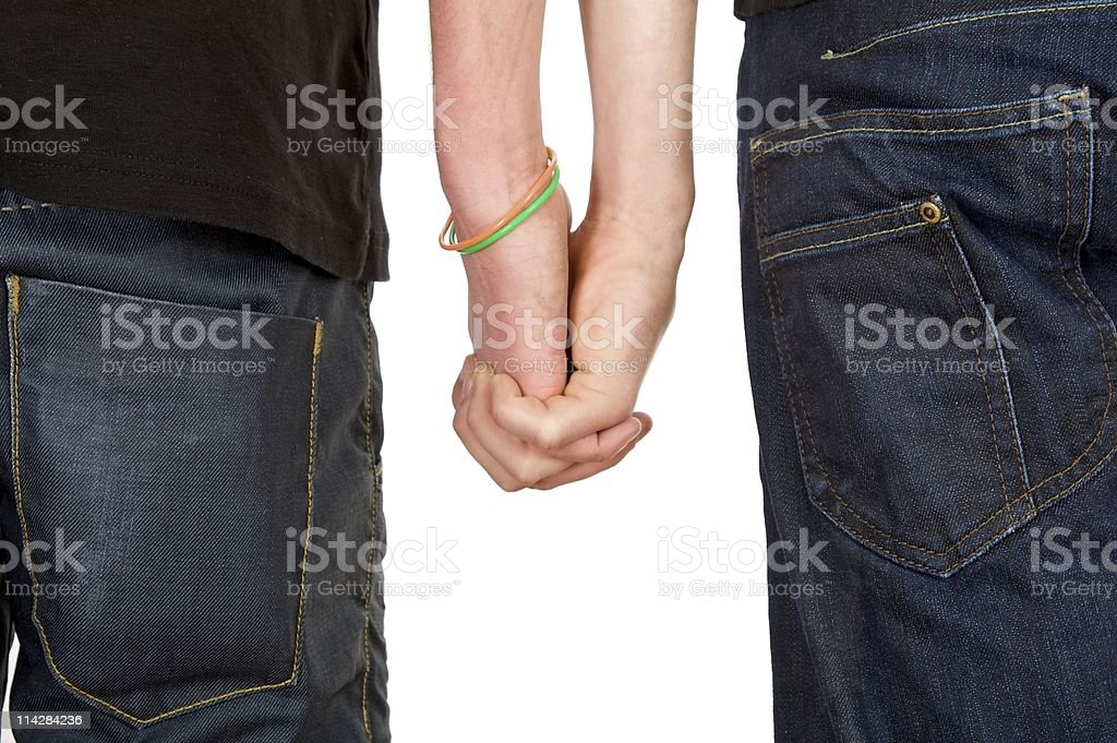 Holding Hands... royalty-free stock photo