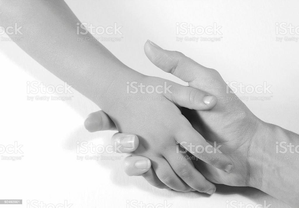 Hände halten Lizenzfreies stock-foto