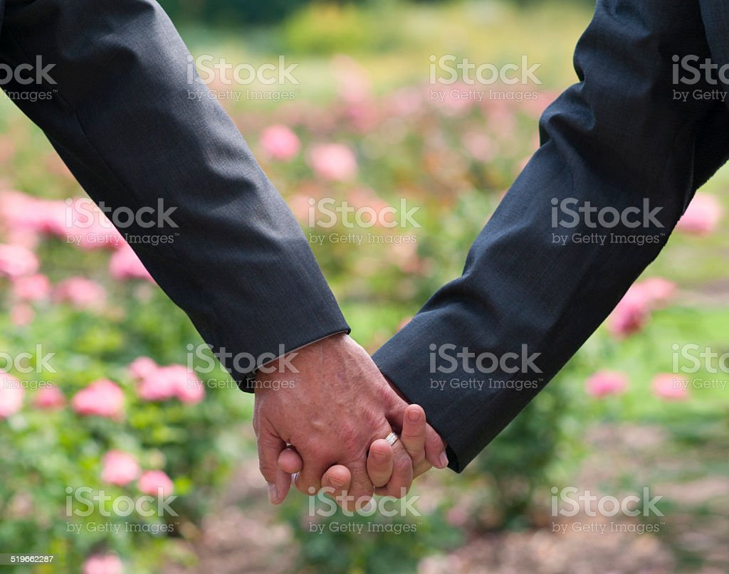 Holding Hands - Stock Image stock photo