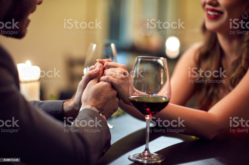 Holding hands-concept - Royalty-free Adult Stock Photo
