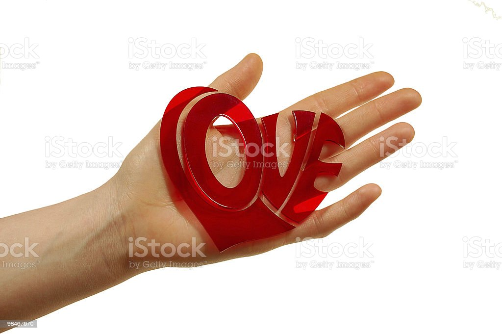 holding love woman royalty-free stock photo