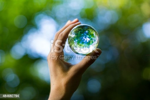 holding nature orb