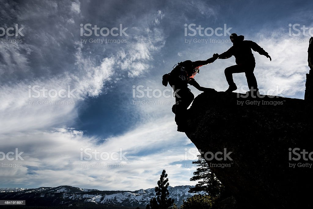 holding on stock photo