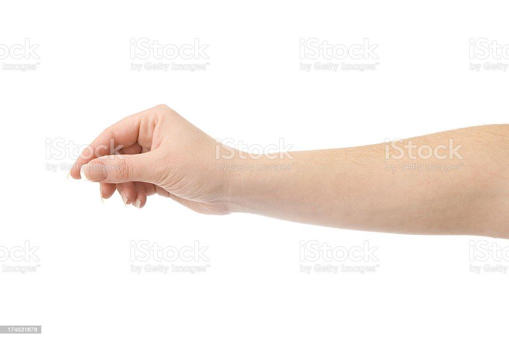 Holding Pen stock photo