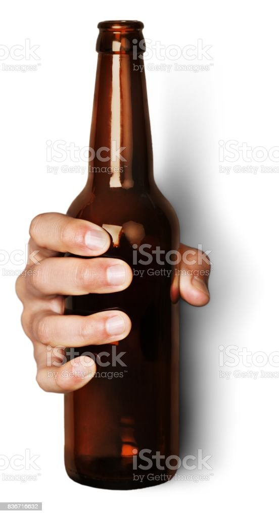 Holding. stock photo