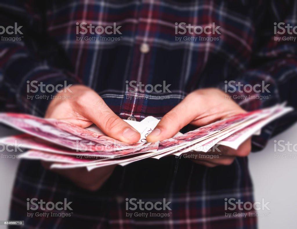 Tenant livre de notes - Photo