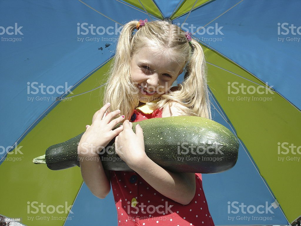 Holding the harvest royalty-free stock photo
