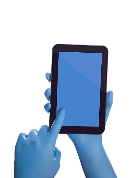 держит сенсорный планшет - hand holding phone стоковые фото и изображения