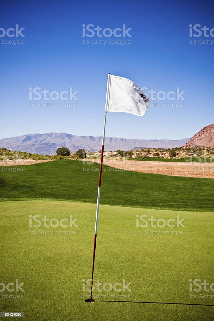Hole 16 royalty-free stock photo