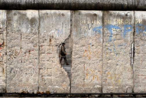 Hole in Berlin Wall