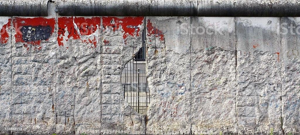 Hole in the Berlin Wall – Foto