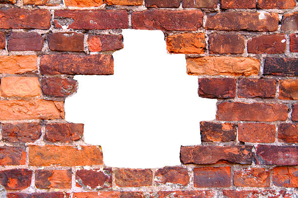 Royalty Free Hole In Brick Wall Pictures, Images and Stock ...