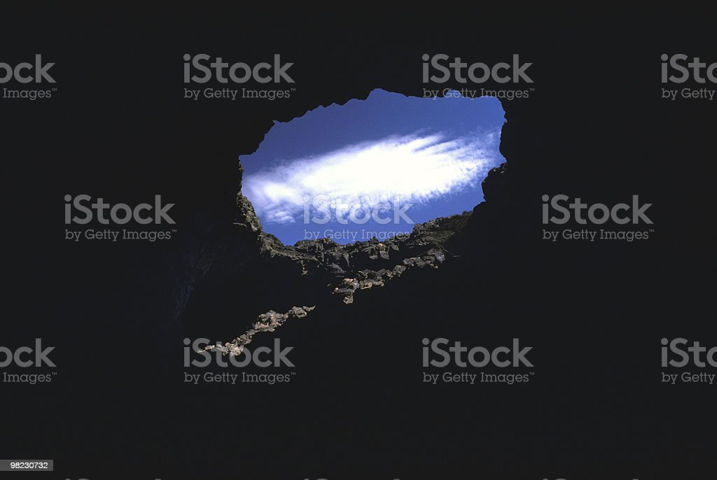 Hole in the Sky royalty-free stock photo