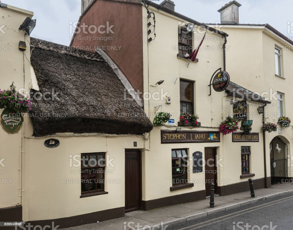 Hole in the Wall bar in Galway, Ireland. stock photo
