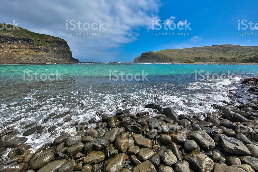 Hole in the Wall Lagoon foto stock royalty-free